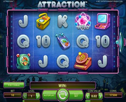 Attraction Main Screen