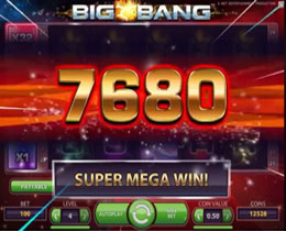 Big Bang Super Mega Win Screenshot