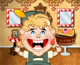 Candy Cottage Bonus Game Screenshot