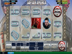 Captain America Slot Main Screenshot