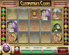 Cleopatra's Coins Screenshot of Main Screen