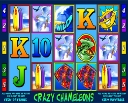 Screenshot of Crazy Chameleon Slot