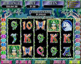 Enchanted Garden Main Screen
