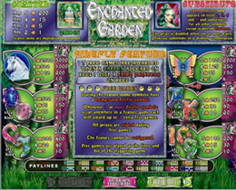 Enchanted Garden Payscreen