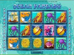 Ocean Fantasy Slot Screenshot