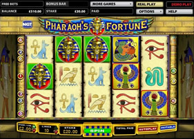 Pharaoh's Fortune Free Spins