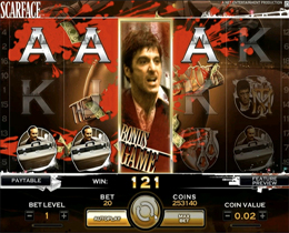 Scarface Main Screen