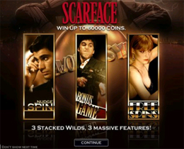 Scarface Free Spins Screenshot