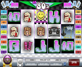 So 80's Slot from Rival Gaming