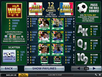 Top Trumps World Football Stars Payout Screenshot