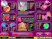 True Love Slot Payscreen