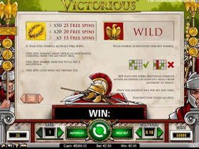 Victorious Bonus Screenshot