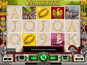 Victorious Main Screen