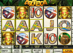 Screenshot of Azteca Slot