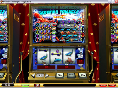 Bermuda Triangle - Playtech Slot