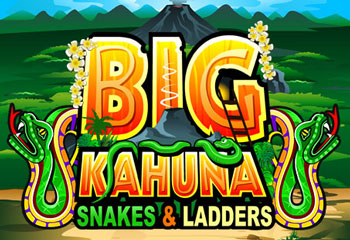 Big Kahuna Snakes And Ladders Slot Logo