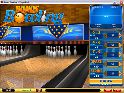 Bonus Bowling Game Screenshot