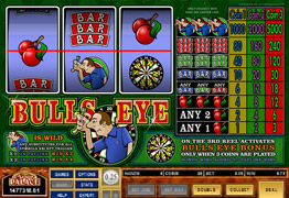 Bulls Eye Main Screen