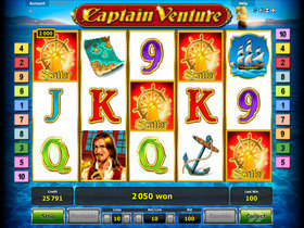 captain venture slot free