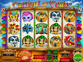 Carnival Of Venice Slot Screenshot