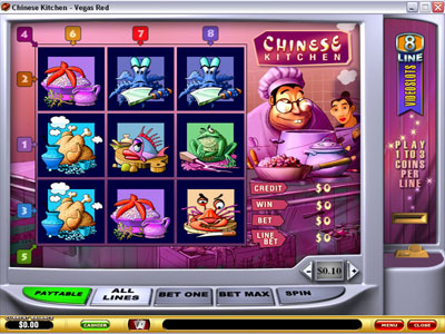 Chinese Kitchen Slot - Playtech Slot