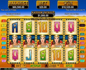 Cleopatras Gold Slot Big Win