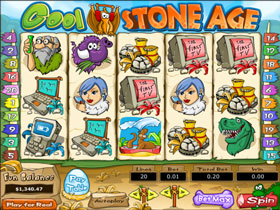 Cool Stone Age Slot Screenshot