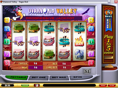 Diamond Valley Slot Screenshot