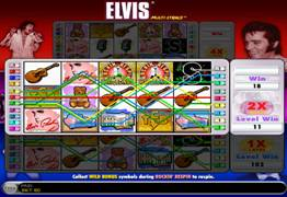 Elvis Multi Strike Slot Bonus
