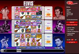 Elvis Multi Strike Slot Screenshot