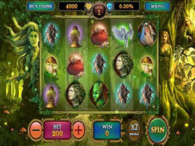 Screenshot of Fairy Magic Slot