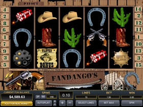 Fandangos Slot Screenshot