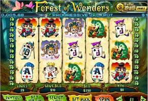 Forest of Wonders Slot Screenshot