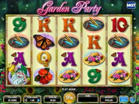 Garden Party Slot Screenshot