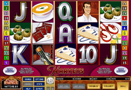 Harveys Slot Main Screen