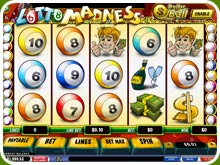 Lotto Madness Slot Screenshot