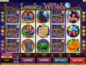 Lucky Witch Slot Screenshot