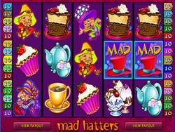 Mad Hstters Slot Main Screen