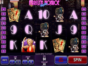 Marilyn Monroe Slot Main Screenshot