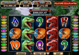 Megasaur Slot Machine - Free Online Casino Game by RTG