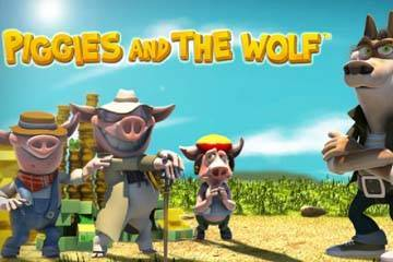 Piggies And The Wolf Slot Logo