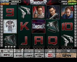 Screenshot of Punisher Slot