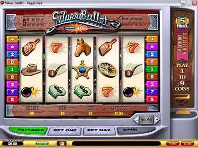 Silver Bullet Slot Screenshot