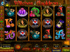 Witches Cauldron Slot Screenshot