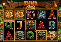 Zuma Slots Main Screen